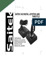 Saitek X45 Manual Update