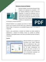Definición y Función de Publisher