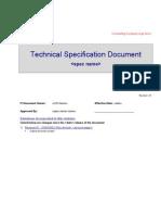 Technical Spec Template