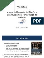Grupo Unidos Por el Canal presentation | Jan. 4, 2014 (Spanish)