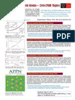 Flyer PhDTopics