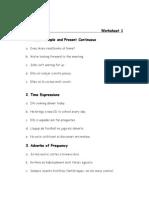 TRANSLATION Worksheet 1