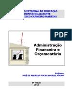 Apostila de Administração Financeira e Orçamentária