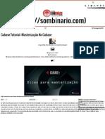 SomBinário _ Cubase Tutorial_ Masterização No Cubase