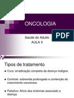 Oncologia Aula II