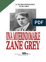 Grey, Zane - Una Mujer Indomable