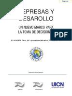WCD - Represas y Desarrollo.