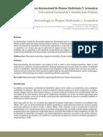 biotecnologia plantas medicinales