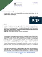 Lo Imaginario Como Hipotesis Sociologica - Durand y Castoriadis