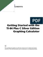 TI84 Plus C GettingStarted En