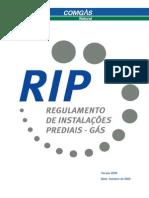 RIP- Regulamento de Instalações Prediais (manual) - Capa