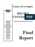 Los Angeles County Grand Jury Final Report 2012 13