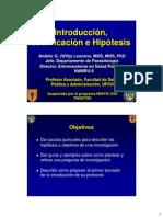 Hipotesis y Objetivos 2