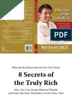 Sanchez Bo 8 Secrets of the Truely Rich