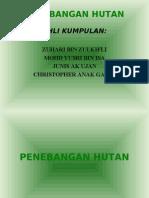 PENEBANGAN HUTAN (BENTANG)
