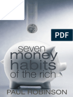 23491331 7 Money Habits of the Rich by PAUL ROBINSON