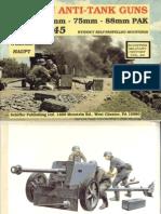 [Schiffer} German Anti-Tank Guns 1935-45, 37, 50, 75, 88mm