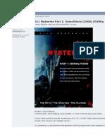 911 Mysteries Part 1 - Demolitions