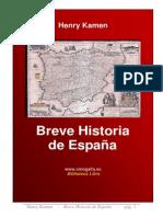 Breve historia de España.       Henry Kamen