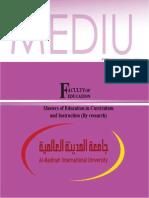 Master Edu Mediu