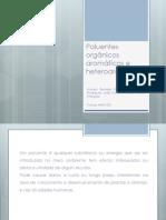 Poluentes orgânicos aromáticos e heteroaromáticos.ppt