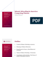 Islamic Schooling in America - Competing Visions