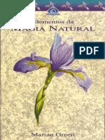 Elementos Da Magia Natural (Marian Green)