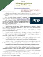 Decreto nº 6833 SIASS