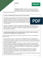 Carta Orientacao Beneficiario-Declaracao Saude