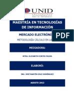 Tarea 11 Metodología de desarrollo Cálculo en la Web