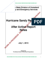 "Sandy ""Notes"" After-Action Report"