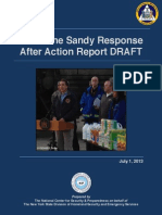 "Sandy ""Draft"" After-Action Report"