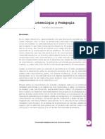 Epistemologia y pedagogía