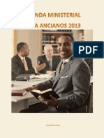 Agenda Ministerial Para Anciano 2013