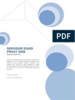 Manual Proxy Squid
