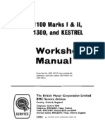 BMC 1100 & 1300 Workshop Manual