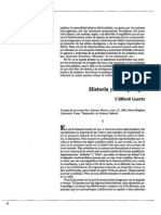 Clifford Geertz - Historia y antropología (versión legible) (deleted 7c7dfda372b9045df00340355f8d57e3)