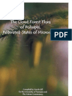 Cloud Forest Flora of Pohnpei, FSM, Nicole Gill 2000