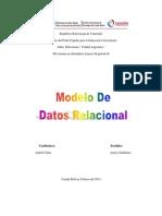 Modelo Relacional Anelys