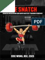 Olm Snatch Manual