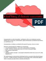 Intro - Electronic Comm History