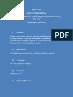 Programa Derecho y Literatura