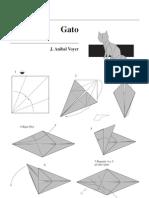 Diagrama de Gato (Origami) - Anibal Voyer