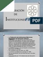 FEDERACIÓN  DE INSTITUCIONES.pptx