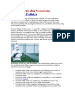 Cholinesterase Dan Mekanisme Keracunan Pestisida