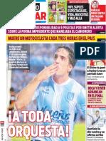 Tapa Diario Popular 09-02-2014