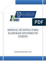 Manual de Estilo Upana