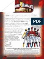 Power Rangers EmPOWER Challenge Teacher Kit