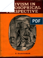 Saivism in Philosophical Perspective K. Sivaraman