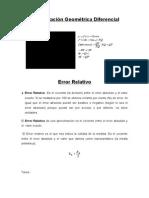 Matematicas (Tarea 3) (Interpretacion Geometrica Diferencial)